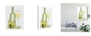 "Trademark Global Jennifer Paxton Parker Wine Watercolor II Canvas Art - 20"" x 25"""