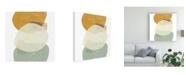 """Trademark Global June Erica Vess Platelet III Canvas Art - 20"""" x 25"""""""