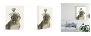 """Trademark Global Melissa Wang Majestic Monkey II Canvas Art - 15"""" x 20"""""""