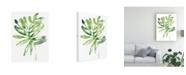 "Trademark Global June Erica Vess Emerald Tropics III Canvas Art - 20"" x 25"""