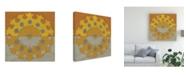 "Trademark Global Chariklia Zarris Suzani Shift I Canvas Art - 20"" x 25"""