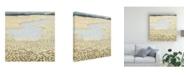 "Trademark Global Victoria Borges Flaxen Field II Canvas Art - 15"" x 20"""