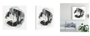 "Trademark Global June Erica Vess Obsidian Arc I Canvas Art - 20"" x 25"""