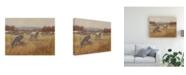 """Trademark Global Ethan Harper Grazing Goats II Canvas Art - 20"""" x 25"""""""