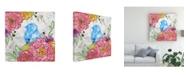 "Trademark Global Catherine Mcguire Bloom & Fly III Canvas Art - 15"" x 20"""