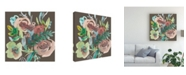 "Trademark Global Chariklia Zarris Rosealeah III Canvas Art - 15"" x 20"""