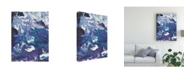"Trademark Global Regina Moore Meandering Mulberry I Canvas Art - 15"" x 20"""