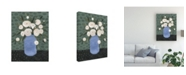 "Trademark Global Emma Scarvey Mason Jar Bouquet IV Canvas Art - 20"" x 25"""