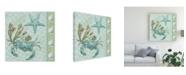 """Trademark Global Jade Reynolds Under Sea II Canvas Art - 15"""" x 20"""""""