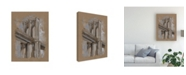 "Trademark Global Ethan Harper Brushwork Architecture Study III Canvas Art - 37"" x 49"""