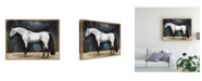 "Trademark Global Naomi Mccavitt Equestrian Studies VI Canvas Art - 20"" x 25"""