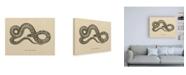 "Trademark Global Wild Apple Portfolio Vintage Boa Constrictor Crop Canvas Art - 27"" x 33.5"""