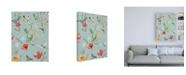 """Trademark Global Janelle Penner Boho Field Pattern VE Canvas Art - 19.5"""" x 26"""""""