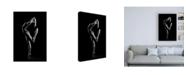 "Trademark Global Sergei Smirnov Contrast Ballet Pose Canvas Art - 15.5"" x 21"""