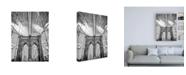 """Trademark Global Design Fabrikken Brooklyn Passage Fabrikken Canvas Art - 15.5"""" x 21"""""""
