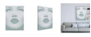 "Trademark Global Design Fabrikken Lashes Fabrikken Canvas Art - 19.5"" x 26"""