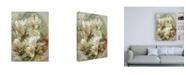 "Trademark Global Brooke T. Ryan Vintage Inspired Magnolias Canvas Art - 36.5"" x 48"""