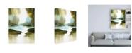"Trademark Global Nancy Knigh A Summers Walk Canvas Art - 19.5"" x 26"""