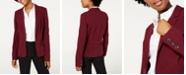 BCX Juniors' Notched-Collar Blazer
