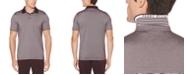 Perry Ellis Men's Big & Tall Regular-Fit Moisture-Wicking Fine Stripe Polo Shirt