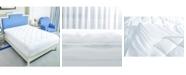 Puredown Coral Fleece Alternative Mattress Pad/Topper Queen
