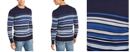 Club Room Men's Cotton Stripe Sweater, Created for Macy's