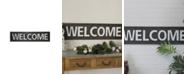 "VIP Home & Garden VIP Home International Metal ""Welcome"" Word Art"