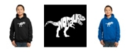 LA Pop Art Boy's Word Art Hoodies - Tyrannosaurus Rex