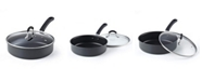 Cook N Home 3-Quart Anodized Nonstick Saute Pan, Model 02635