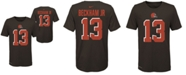 Nike Big Boys Odell Beckham Jr. Cleveland Browns Pride Name and Number T-Shirt