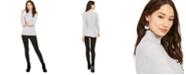 Style & Co Ribbed Knit Turtleneck Sweater & Cheetah Print Leggings