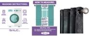 """HLC.me Obscura By Busselton"""" Lattice Blackout Grommet Patio Door Panel - 100"""" W X 84"""" L"""