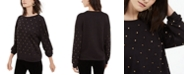 INC International Concepts I.N.C. Studded Sweatshirt, Created For Macy's