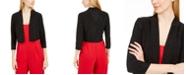 Calvin Klein Petite Sparkle Bolero Sweater