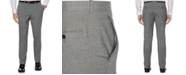 Perry Ellis Portfolio Men's Slim-Fit Stretch Heathered Check Dress Pants