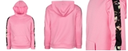 Ideology Big Girls Fleece Tape-Trim Hoodie, Created For Macy's
