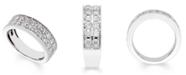 Macy's Certified Diamond (1 ct. t.w.) Band in 14K White Gold