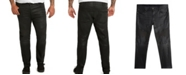 Mvp Collections By Mo Vaughn Productions MVP Collections Men's Big & Tall Black Waxed Denim Biker Jeans