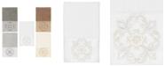 Linum Home 100% Turkish Cotton Alyssa Embellished Hand Towel