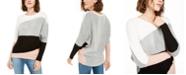 BCX Juniors' Colorblocked Sweater