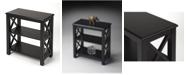 Butler Vance Black Licrice Bookcase