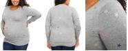 Motherhood Maternity Plus Size Ruched Sweater