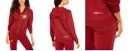 Nike Shine Metallic Logo Zip Hoodie & Pants