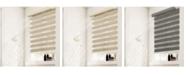 "Chicology Cordless Zebra Shades, Dual Layer Combi Window Blind, 43"" W x 72"" H"
