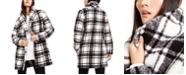 Calvin Klein Plaid Fleece Flyaway Jacket