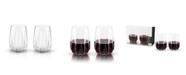 Viski Raye Crystal Cactus Wine Glasses