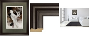"Classy Art Jazz Sax by Mark Chandon Framed Print Wall Art, 34"" x 40"""