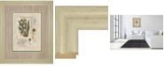 "Classy Art Histoire Du Orchid VI by Carney Framed Print Wall Art, 34"" x 40"""