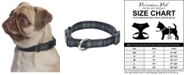 Parisian Pet Scottish Plaid Dog Collar