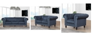 Abbyson Living Saria Tufted Living Room Collection